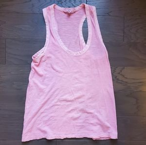 Banana Republic racerback sheer tank